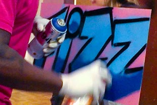 Titan Scouts Graffiti