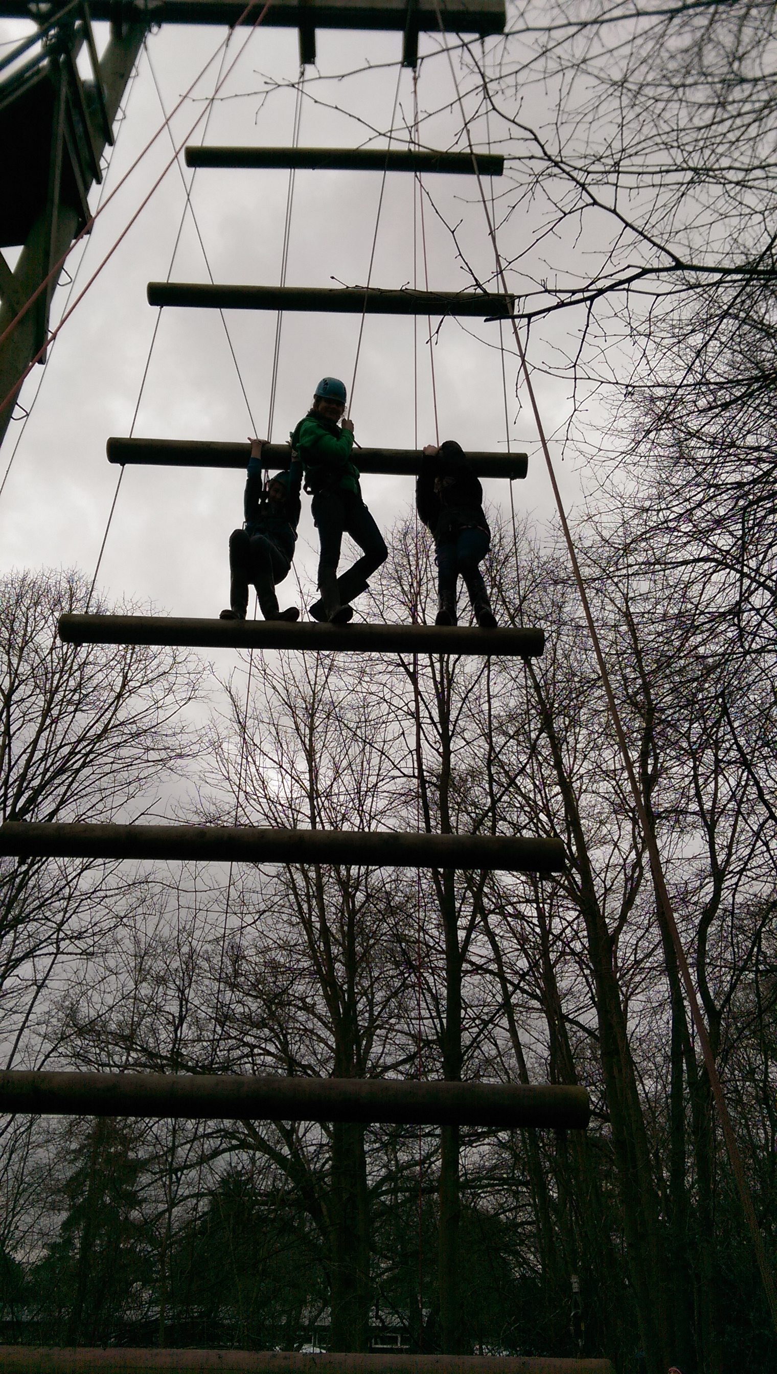 On The High Wires at Wintercamp